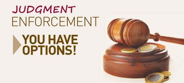 California Judgment Enforcement Attorneys